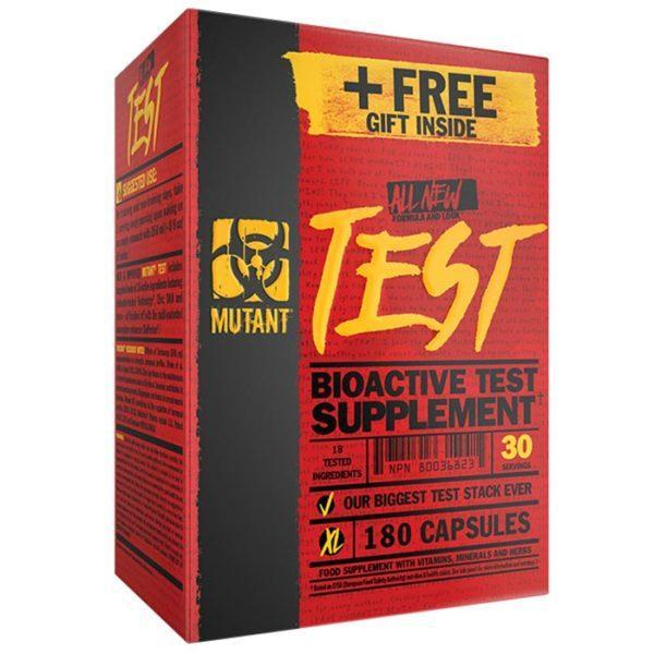 Mutant Test | 180 Capsules | T Booster | T Boosters | Zinc Contributes To The Maintenance Of Normal T Levels