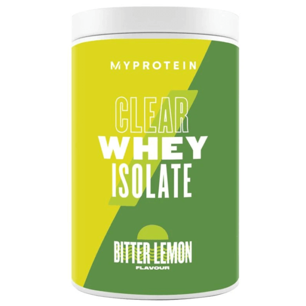 Myprotein My Protein Clear Whey | 500g | Bitter Lemon | Hydrolysate | Whey Protein Powder | Over 90% Protein Per Serving