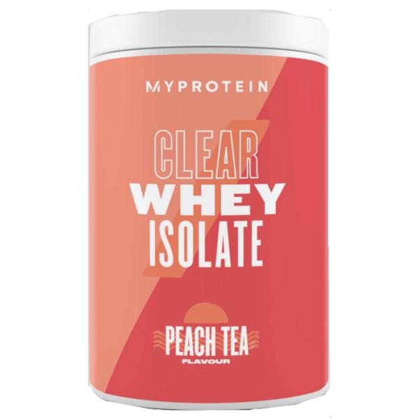 Myprotein My Protein Clear Whey | 500g | Peach Tea | Hydrolysate | Whey Protein Powder | Over 90% Protein Per Serving