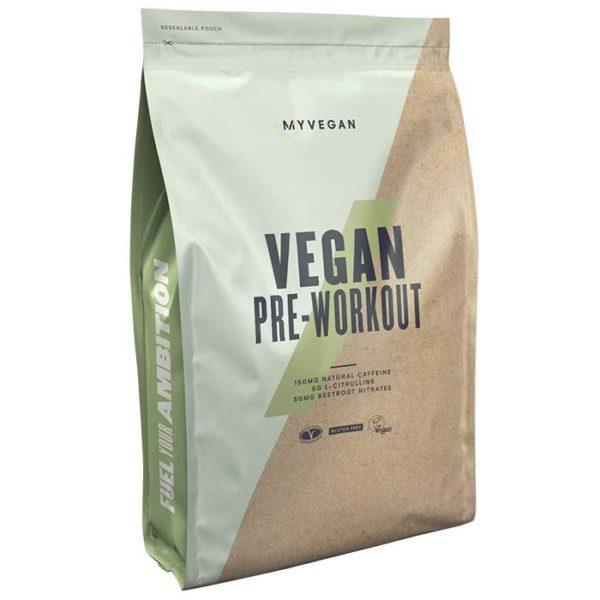 Myprotein My Protein Vegan Pre-Workout V2 | 17 Servings | Sour Apple | Has 150mg Of Natural Caffeine