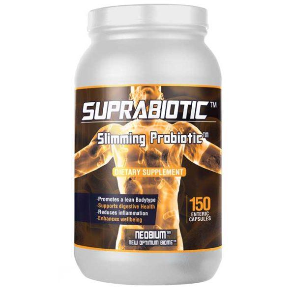 Neobium Suprabiotic | 150 Capsules | Advanced Probiotic | Digestive Health supplements | Probiotic With 80 Billion Colony Forming Units