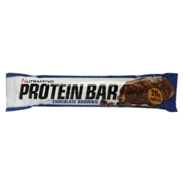 Nutramino Protein Bar Bounty | 12 Bars | Crispy Chocolate Brownie | Protein Bars | Heavenly Taste Just Like A Protein Bounty Bar
