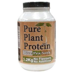 Nutrisport Pure Plant Protein | 1200g | Unflavoured | Vegan Protein Powder | Vegan Friendly Pure Plant Protein