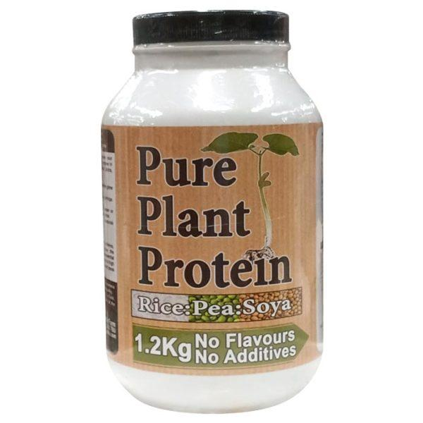 Nutrisport Pure Plant Protein | 1200g | Unflavoured | Vegan Protein Powder | Vegan Friendly Pure Plant Protein