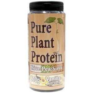 Nutrisport Pure Plant Protein | 500g | Vanilla | Vegan Protein Powder | Vegan Friendly Pure Plant Protein