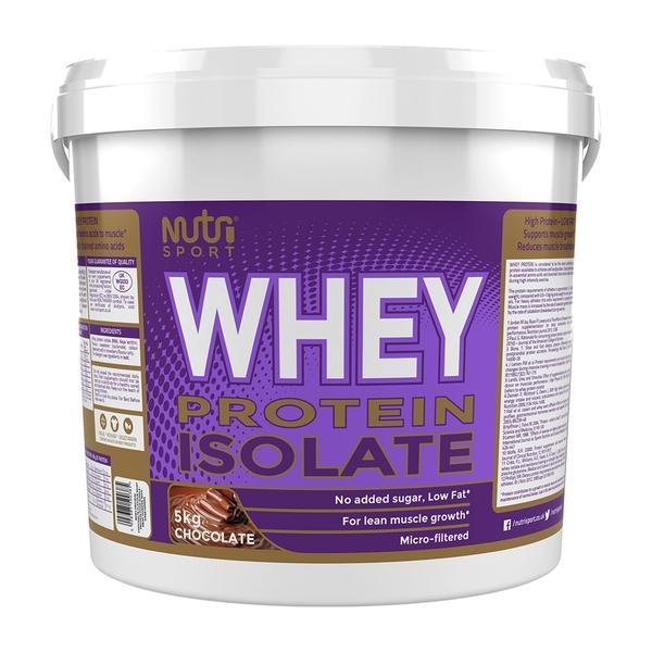Nutrisport Whey Protein Isolate 5kg