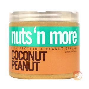 Nuts 'N More Nuts N More Coconut Peanut Butter Spread | 454g | High Protein | Smooth Creamy High Protein Superfood