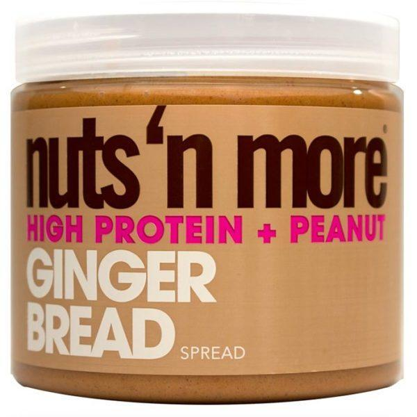 Nuts 'N More Nuts N More Peanut Butter Gingerbread | 454g | Nut Butters & Spreads | Contains Healthy Fats
