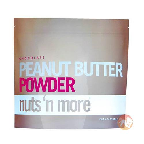 Nuts 'N More Nuts N More Peanut Butter Powder | 284g | Chocolate | 3 Flavours | Nut Butters & Spreads | Naturally Healthy Peanut Protein