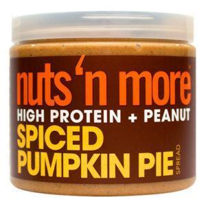 Nuts 'N More Nuts N More Spiced Pumpkin Pie Peanut Butter | 454g | Nut Butters & Spreads | Gluten Free & Non Gmo
