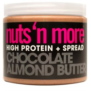 Nuts 'N More Nuts'n More Chocolate Almond Butter | 454g | Chocolate Flavoured Almond Butter With Added Protein | High in Omega-3 Fats