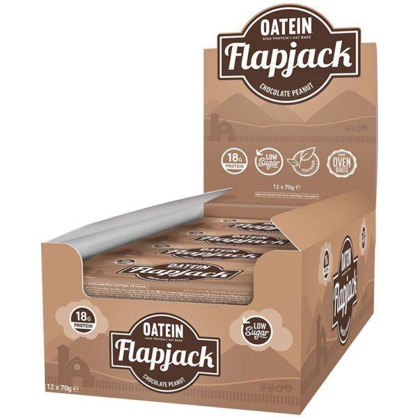 Oatein Low Sugar Flapjack 12 x 70g