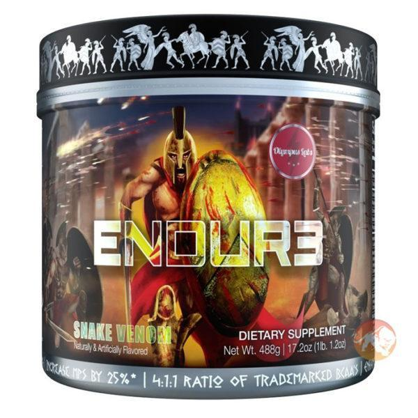 Olympus Labs Endur3 | 30 Servings | Dragon's Mist | BCAA Intra-Workout | BCAA & Essential Amino Acids | BCAAs