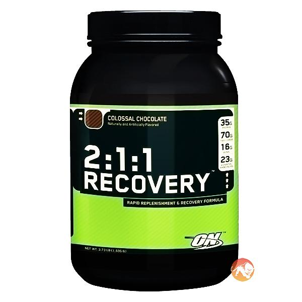 Optimum Nutrition 2:1:1 Recovery | 1695g | Raspberry Rush | BCAA & Essential Amino Acids | Over 34g Of Protein