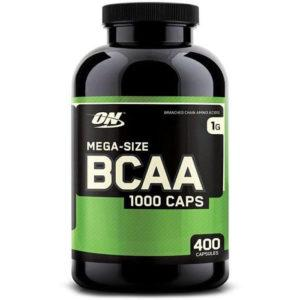 Optimum Nutrition BCAA 1000 | 400 Capsules | Tablet BCAA's | Recovery Supplement | BCAA & Essential Amino Acids | Proven 2:1:1 Ratio Of BCAA's