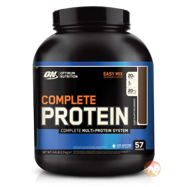 Optimum Nutrition Complete Protein | 500g | Chocolate | Complete Blend Of Whey, Casein & Egg Protein