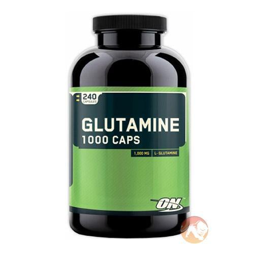 Optimum Nutrition Glutamine Capsules | 240 Capsules | Glutamine Supplements
