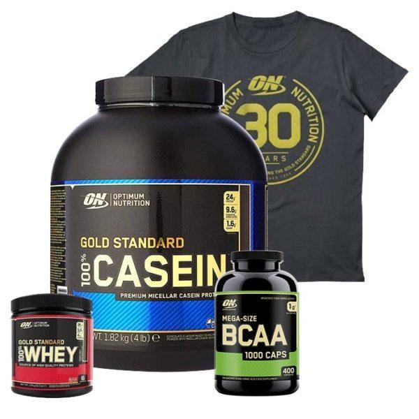 Optimum Nutrition Gold Standard 100% Casein | 1814g | Banana Cream | Protein Powder | Digests Slowly To Enhance Muscle Building Up to 12 Hours