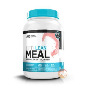 Optimum Nutrition Opti-Lean Meal Replacement Powder | 954g | Vanilla | 25g Of Protein | Protein Blends | 25g Of Protein Per Seving