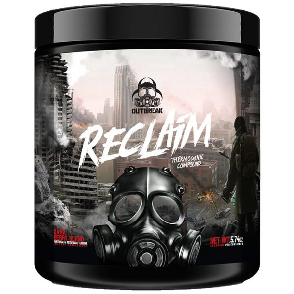 Outbreak Nutrition Reclaim | 30 Servings | Dark Berry Blend | Thermogenic Fat Burner | Fat Burners | The Ultimate Fat-Stripping Formula