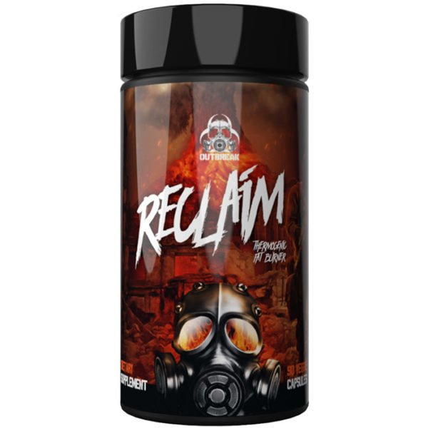 Outbreak Nutrition Reclaim | 90 Capsules | Unflavoured | Thermogenic Fat Burner | Fat Burners | The Ultimate Fat-Stripping Formula