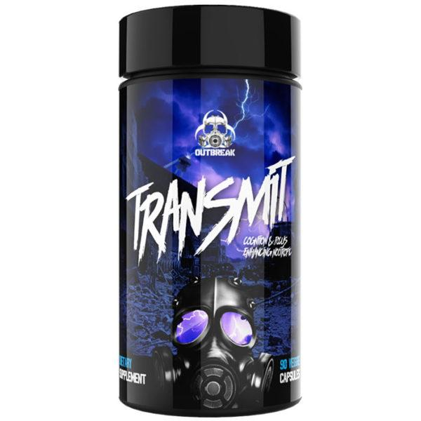 Outbreak Nutrition Transmit | 90 Capsules | Cognition & Focus Enhancing Nootropic | Nootropic Supplements & Boost Mental Performance | Clinical