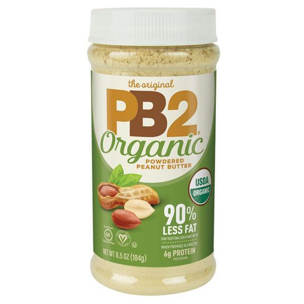 PB2 Foods Organic Powdered Peanut Butter | 184g | Organic Peanut Butter | Nut Butters & Spreads | Organic Powdered Peanut Butter Made With Real