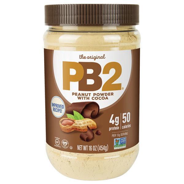 PB2 Foods Pb2 Chocolate Powdered Peanut Butter | 454g | Chocolate Peanut Butter | Low Fat | Vegan Protein Powder | Nutritious Alternative To Regular
