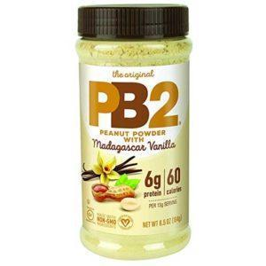 PB2 Foods Pb2 Vanilla Powdered Peanut Butter | 184g | Vanilla Peanut Butter | Nut Butters & Spreads | Nutritious Alternative To Regular Peanut Butter