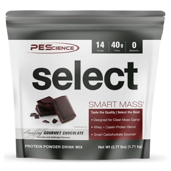 PEScience Select Smart Mass | 14 Servings | Gourmet Chocolate | Weight Gainer Powder | Protein Powder | 40g Premium Whey & Casein Protein