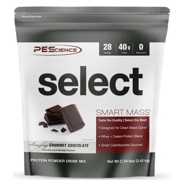 PEScience Select Smart Mass | 28 Servings | Gourmet Chocolate | Weight Gainer Powder | Protein Powder | 40g Premium Whey & Casein Protein