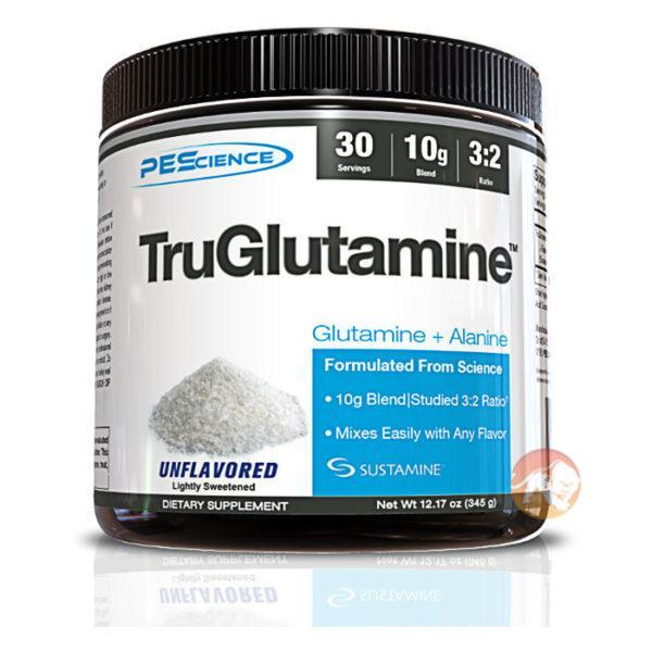 PEScience Truglutamine | 30 Servings | Glutamine Powder | Glutamine Supplements | 10g Of 100% L-glutamine Per Serving