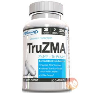 PEScience Truzma | 120 Capsules | Zinc, Magnesium, Vitamin B Supplement | T Boosters | Increases In T Levels During Sleep