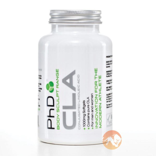 PHD Nutrition Cla Fat Burner | 90 Softgels | Non-Stimulant Fat Burners | Safe Omega Fatty Acid Shown To Improve Fat Loss