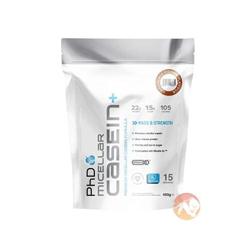 PHD Nutrition Phd Micellar Casein+ Protein Powder | 900g | Vanilla Creme | Muscle Recovery | Slow Release Protein Helps Provide Amino Acids To Your