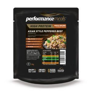 Performance Meals Asian Style Peppered Beef & Brown Rice