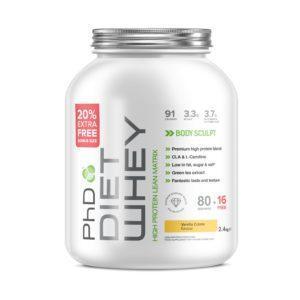 PhD Nutrition Diet Whey 2.4kg