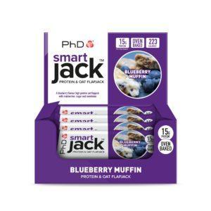PhD Nutrition Smart Jack Protein & Oat Flapjack