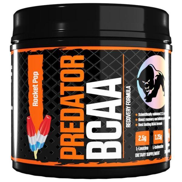 Predator Nutrition BCAA | 30 Servings | Rocket Pop | Recovery Drink | Whey Protein Powder | The Best Tasting Recovery Drink Out There