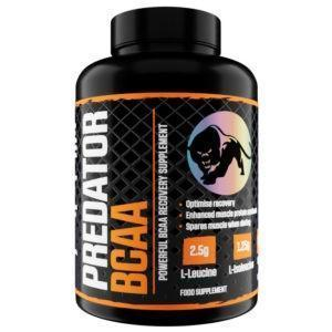 Predator Nutrition BCAA Tablets   180 Tabs   Recovery Tablets   BCAA & Essential Amino Acids   5g BCAA Per Serving