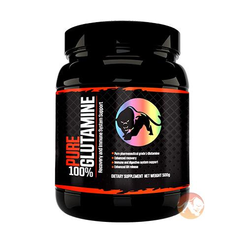 Predator Nutrition Glutamine | 500g | Unflavoured | Recovery & Immune System Support | Glutamine Supplements | Pure Pharmaceutical Grade L-Glutamine