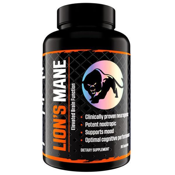 Predator Nutrition Lion's Mane Nootropic Supplement | 90 Capsules | Nootropic Supplements & Boost Mental Performance | Derived from 100% Natural