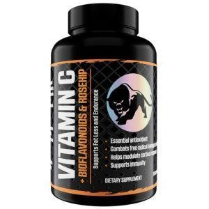Predator Nutrition Vitamin C + Bioflavonoids Vitamin Supplement | 90 Caps | Vitamins & Mineral Supplements | Boosts Health & Wellbeing