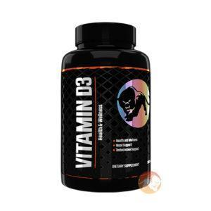 Predator Nutrition Vitamin D3 | 180 Capsules | 2000Iu Vitamin D | Vitamins & Mineral Supplements | Essential Vitamin