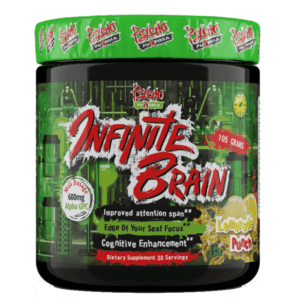 Pyscho Pharma Psycho Pharma Infinite Brain | 30 Servings | Lemon Punch | Nootropic | Nootropic Supplements & Boost Mental Performance | Fast Acting