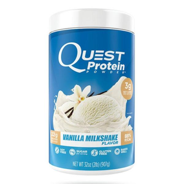 Quest Nutrition Quest Protein Powder | 726g | Vanilla Milkshake | High Quality Protein Including Whey Isolate, Micellar Casein & Milk Isolate