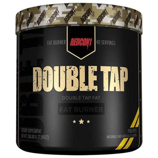 REDCON1 Double Tap Fat Burner | 40 Servings | Strawberry Mango | Appetite Suppression | Fat Burners | High Energy Fat Burner
