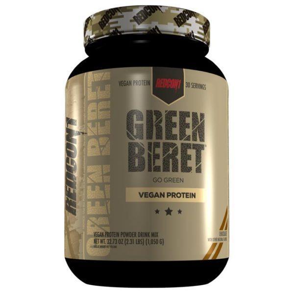 REDCON1 Green Beret   30 Servings   Chocolate   Vegan Protein Powder   Protein Powder For Vegan Bodybuilders