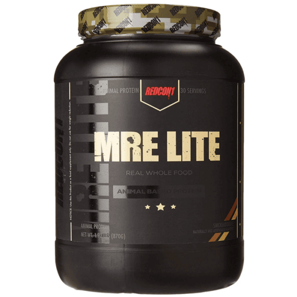 REDCON1 Mre Lite | 870g | Snickerdoodle | Low Calorie Meal Replacement Powder | Protein Powder | Real, Whole Food Ingredients
