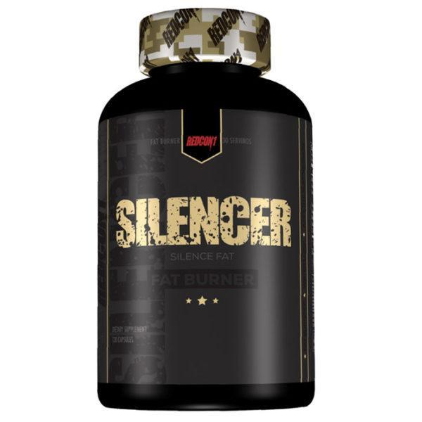 REDCON1 Redcon 1 Silencer | 120 Tablets | Fat Burner | Non-Stimulant Fat Burners | Stimulant Free Fat Burner
